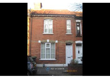 Thumbnail 2 bedroom terraced house to rent in Hartington Street, Bedford