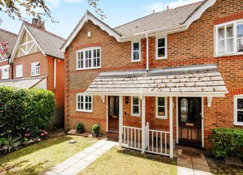 Sunningdale, Berkshire SL5. 3 bed end terrace house