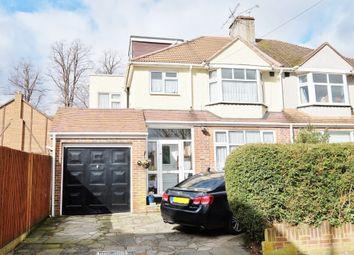 Thumbnail 4 bed semi-detached house for sale in Vinson Close, Orpington