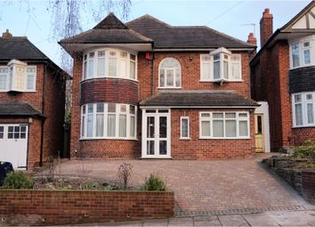 Thumbnail 4 bed detached house for sale in Hudson Road, Handsworth Wood, Birmingham