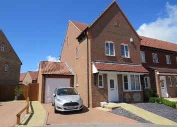 Thumbnail 4 bedroom end terrace house for sale in Watersmead Drive, Littlehampton