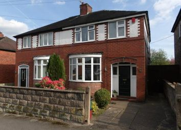 Thumbnail 3 bed semi-detached house for sale in Ellison Street, Newcastle, Staffordshire