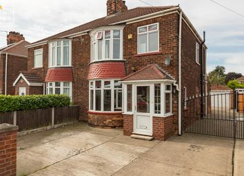 Thumbnail 3 bed semi-detached house for sale in Stockshill Road, Scunthorpe