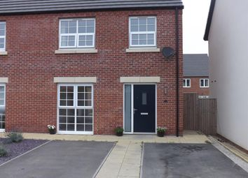 Thumbnail 3 bed semi-detached house to rent in Wheatsheaf Way, Clowne, Chesterfield