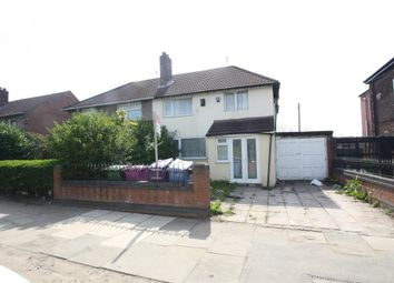 Thumbnail 3 bedroom semi-detached house for sale in Queens Drive, Liverpool