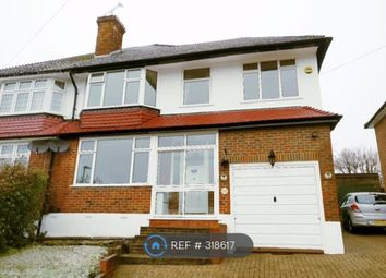 Thumbnail 4 bed semi-detached house to rent in Cloonmore Avenue, Orpington