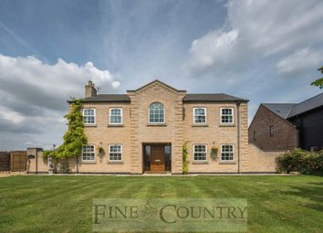 Thumbnail 5 bedroom detached house for sale in Back Road, Murrow, Parson Drove, Wisbech