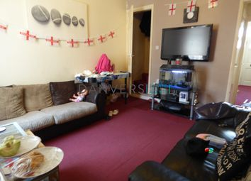 Thumbnail 4 bed terraced house to rent in Vaughan Street, Leicester