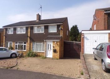 Thumbnail 3 bed semi-detached house for sale in Milton Drive, Newport Pagnell