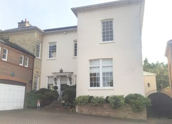 Thumbnail 5 bed semi-detached house for sale in Northaw Place, Coopers Lane, Northaw, Potters Bar, Hertfordshire