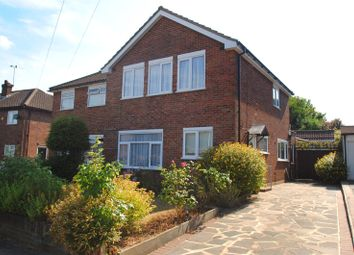 Thumbnail 3 bed semi-detached house for sale in Humber Drive, Upminster