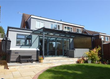 Thumbnail 3 bed semi-detached house for sale in Bockland Close, Cullompton, Devon