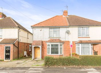 Thumbnail 3 bed semi-detached house for sale in Dodwell Lane, Bursledon, Southampton