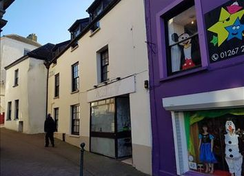 Thumbnail Retail premises for sale in 17 Guildhall Square, Carmarthen