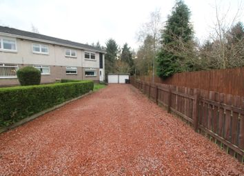 Thumbnail 2 bed flat for sale in Laightoun Court, Glasgow