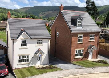 Thumbnail 4 bed detached house for sale in Plot 21, Maes Helyg, Vicarage Road, Llangollen