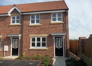 Thumbnail 2 bed end terrace house to rent in Brewster Road, Gainsborough