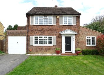 Thumbnail 4 bed detached house for sale in Wilton Place, New Haw