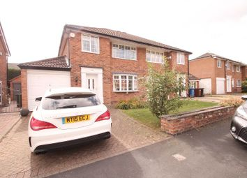 Thumbnail 3 bed semi-detached house to rent in Blenheim Road, Cheadle Hulme, Cheadle