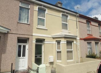 Thumbnail 4 bedroom terraced house for sale in Cromwell Road, St Judes, Plymouth, Devon