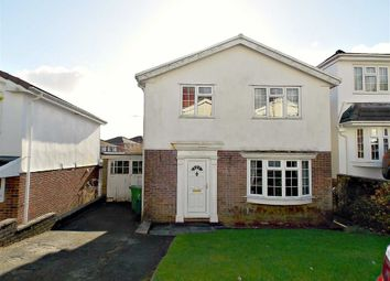 Thumbnail 4 bed detached house for sale in Graigwen Parc, Graigwen, Pontypridd