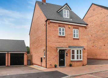 Thumbnail 4 bedroom detached house for sale in Knightwood Road, Off Barkbythorpe Road