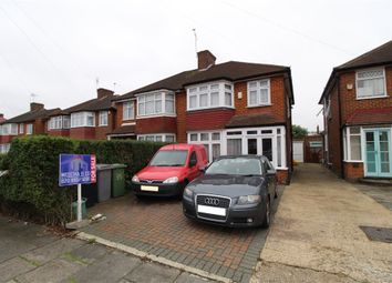 Thumbnail 3 bed semi-detached house for sale in Calder Gardens, Edgware, Middlesex
