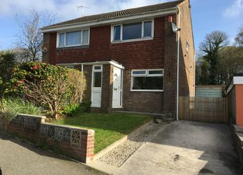 Thumbnail 2 bed semi-detached house to rent in Goad Avenue, Torpoint