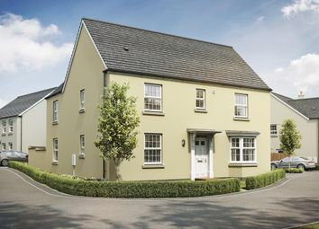 """Thumbnail 4 bed detached house for sale in """"Layton"""" at Redmoor Close, Tavistock"""