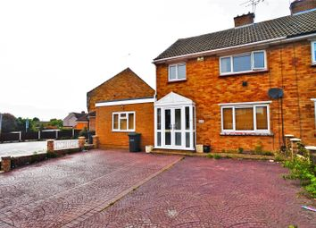 Thumbnail 3 bed semi-detached house to rent in Dene Holm Road, Northfleet, Gravesend
