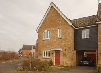 Thumbnail 3 bedroom link-detached house for sale in Brickfields Drive, Haverhill