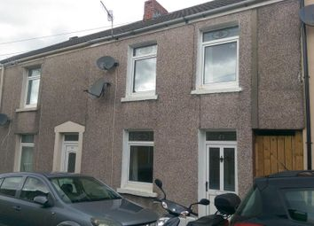Thumbnail 3 bed terraced house to rent in Freeman Street, Brynhyfryd, Swansea