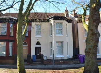 Thumbnail 6 bed terraced house to rent in Lesseps Road, Liverpool City Centre
