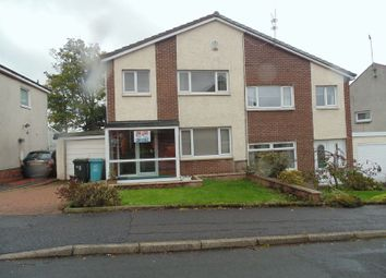 Thumbnail 3 bed semi-detached house for sale in Ross Drive, Motherwell