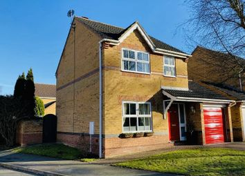 Thumbnail 3 bed detached house for sale in Sycamore Crescent, Lincoln