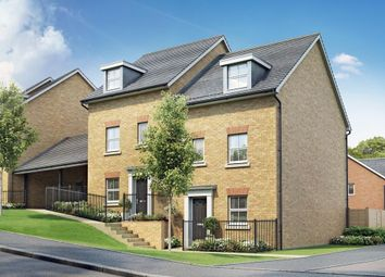 "Thumbnail 4 bed end terrace house for sale in ""Woodcote"" at Post Hill, Tiverton"