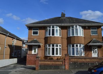 Thumbnail 3 bed semi-detached house to rent in Hollycroft Road, Plymouth