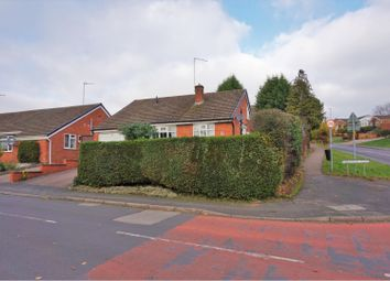 Thumbnail 2 bed detached bungalow for sale in Parkstone Road, Desford, Leicester