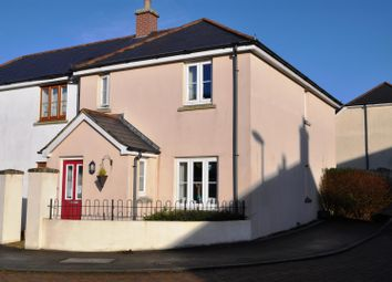 Thumbnail 3 bed semi-detached house for sale in Ackland Close, Shebbear, Beaworthy