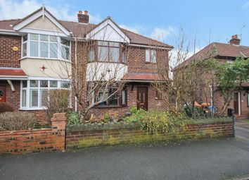Thumbnail 3 bed semi-detached house for sale in Shadewood Crescent, Grappenhall, Warrington