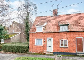 Thumbnail 2 bed end terrace house for sale in Stanton, Bury St Edmunds, Suffolk