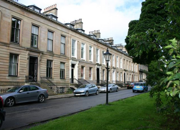 Thumbnail 1 bedroom flat to rent in Kew Terrace, Glasgow