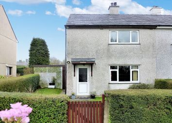 Thumbnail 2 bed semi-detached house for sale in Talwrn, Llangefni, Anglesey