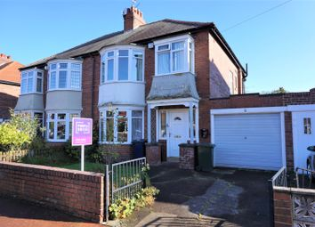 Thumbnail 3 bed semi-detached house for sale in Prestwick Gardens, Newcastle Upon Tyne