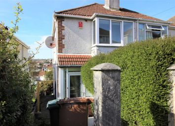 Thumbnail 2 bedroom semi-detached house to rent in Cardinal Avenue, St Budeaux