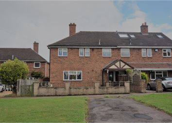 Thumbnail 3 bed semi-detached house for sale in Oak Lane, Solihull
