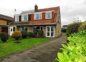 Thumbnail 3 bed semi-detached house for sale in Heybridge Close, Tean, Stoke-On-Trent