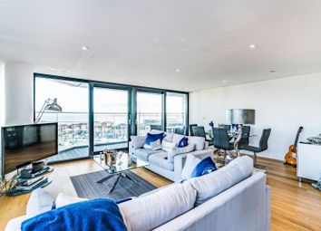 Thumbnail 3 bedroom flat for sale in The Hawkins Tower, Ocean Way, Southampton