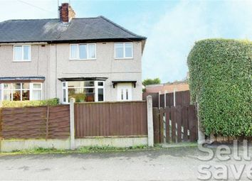 Thumbnail 3 bed semi-detached house for sale in Church Street South, Chesterfield, Derbyshire