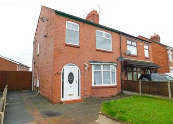 Thumbnail 3 bed semi-detached house for sale in Evans Street, Crewe